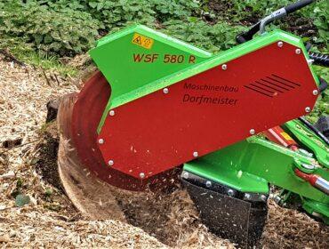 Wurzelstöckfräse WSF 850 für Bagger