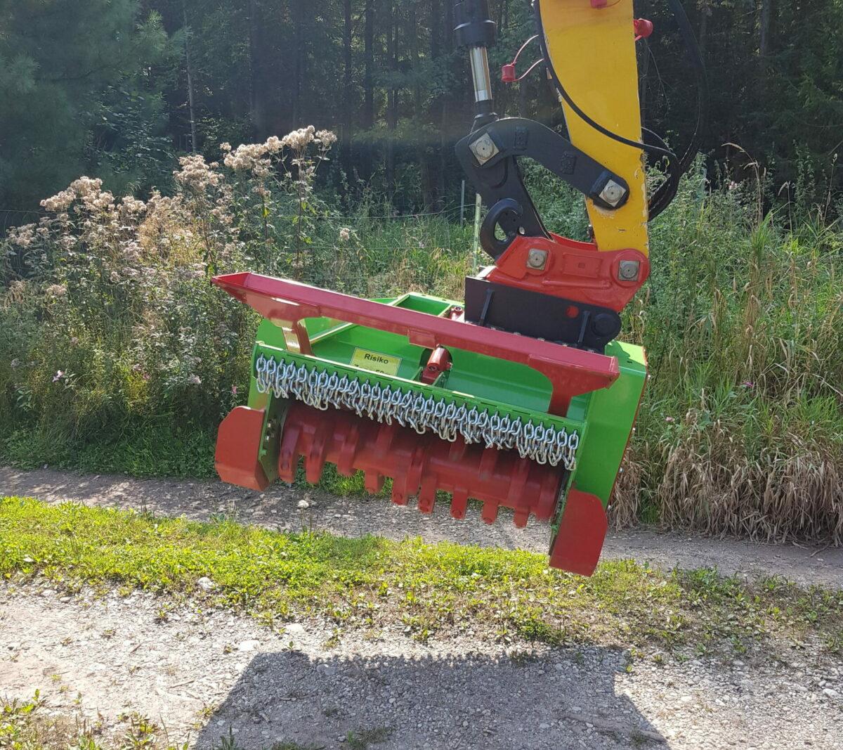 Forstmulcher FM 1060 für Bagger