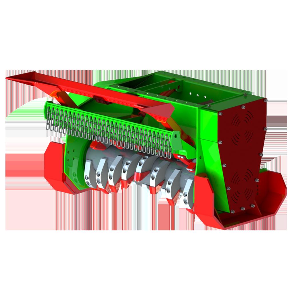 FM1060 Bagger Werkzeughalter rund