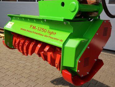 Forstmulcher FM 1250 light für Bagger