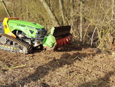 Forstmulcher FM 1250 vario für Bagger