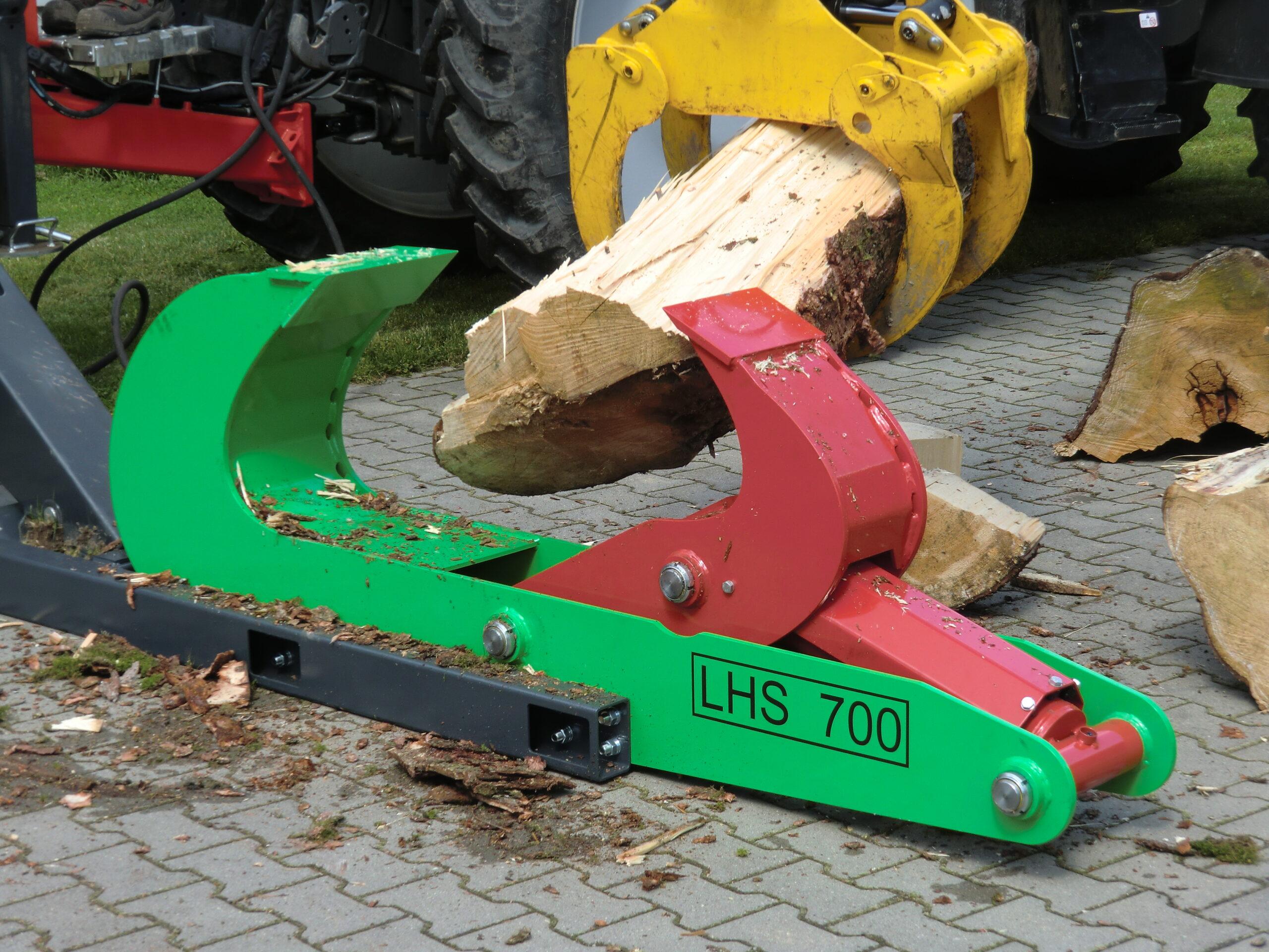 Spaltzange LHS 700 zum Holz spalten
